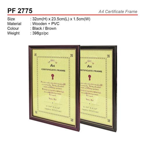 A4 Certificate Frame (PF2775)