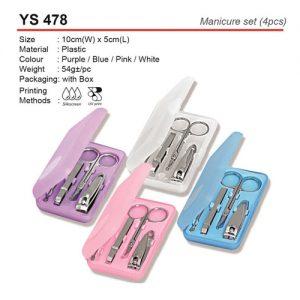 4pcs Budget Manicure Set (YS478)