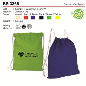 Canvas Sling Bag (BS3366)