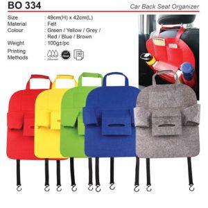 Car Seat Organiser (BO334)