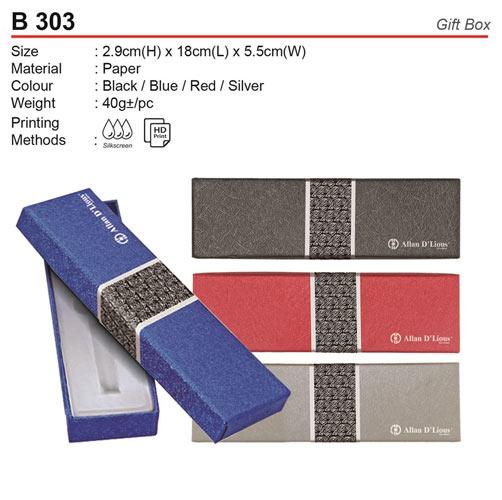 Allan D'llious Pen Box (B303)