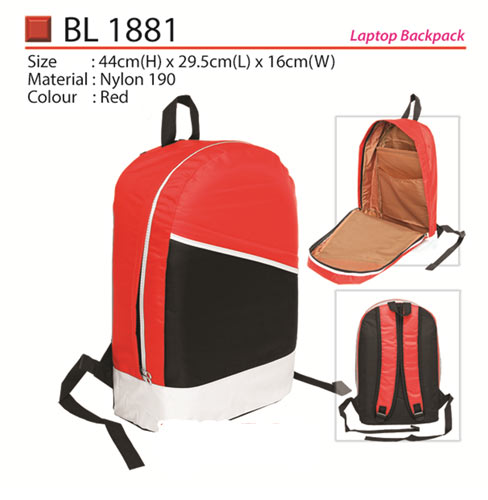 Trendy Laptop Backpack (BL1881)