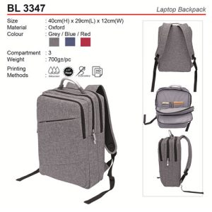 Oxford Laptop Backpack (BL3347)