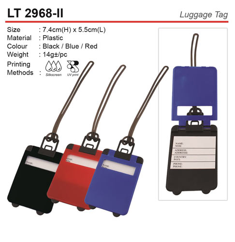 Trendy Luggage Tag (LT2968-II)