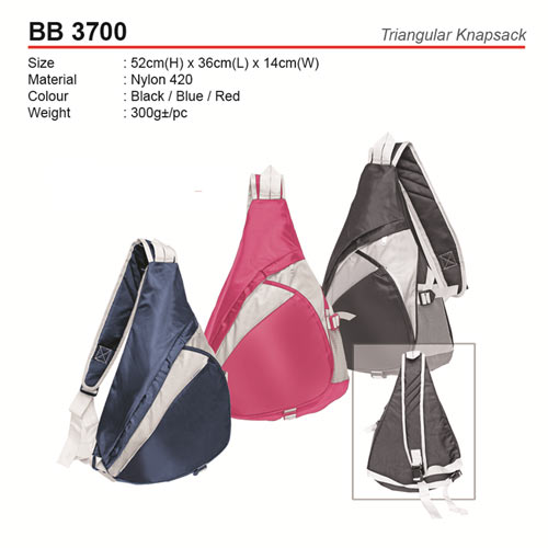 Trendy Triangular Knapsack (BB3700)