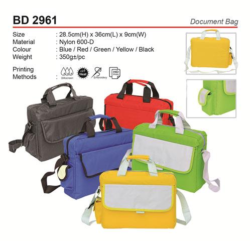 Colourful Document Bag (BD2961)