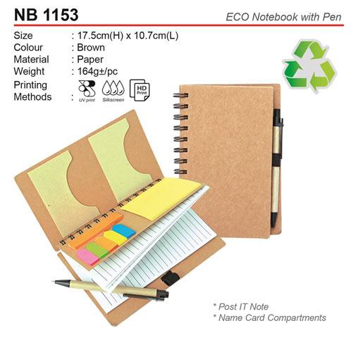Eco Notebook set (NB1153)