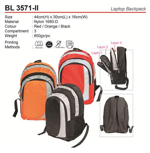 Budget Laptop Backpack (BL3571-II)