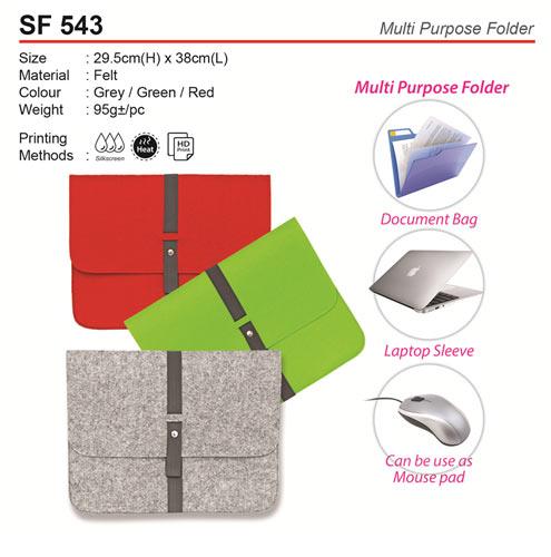 Multi Purpose Folder (SF543)