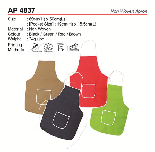 Non Woven Apron (AP4837)