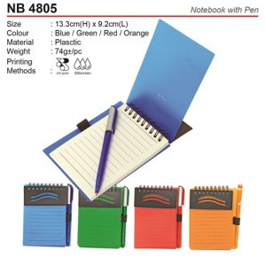 Notepad with Pen (NB4805)