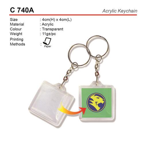 Acrylic Keychain (C740A)
