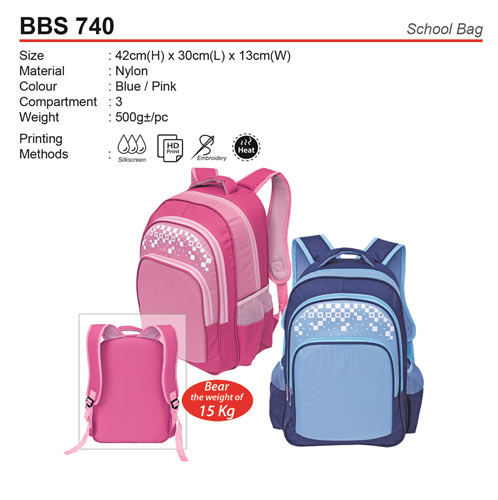 Quality School Bag (BBS740)