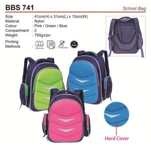 Hard Cover School Bag (BBS741)