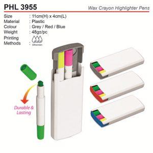 Wax Crayon Highlighter Pens (PHL3955)