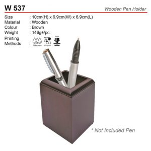 Wooden Pen Holder (W537)