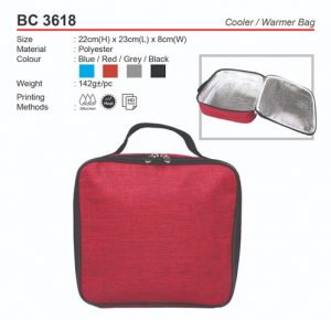 Cooler and Warmer Bag (BC3618)