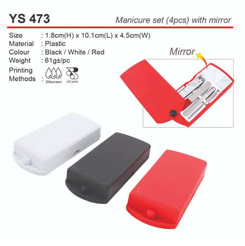 Manicure Set with Mirror (YS473)
