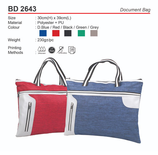 Modern Document Bag (BD2643)