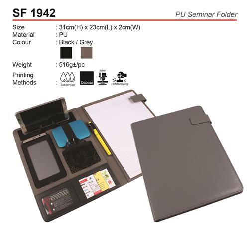 PU Seminar Folder (SF1942)