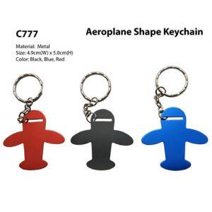 Aeroplane Shape Keychain (C777)