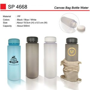 Canvas Bag Water Bottle (SP4668)