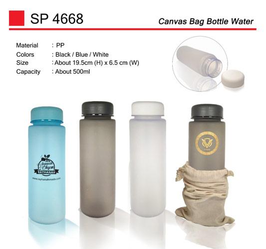 Canvas Bag Water Bottle (SP4668)