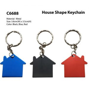 House Shape Keychain (C6688)