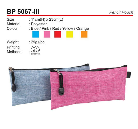 Pencil Pouch (BP5067-III)