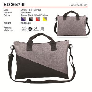 Document Bag (BD2647-III)