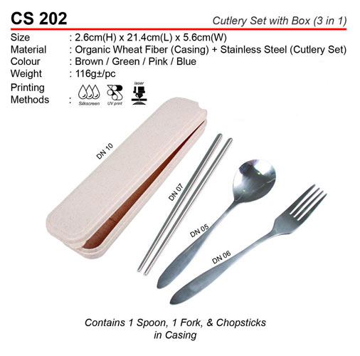 Cutlery set with box (CS202)