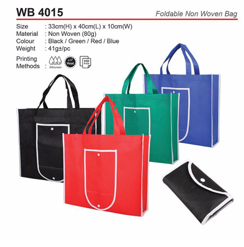 oldable Non woven Bag (WB4015)