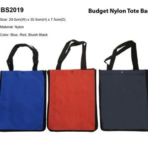 Budget Nylon Totebag (BS2019)