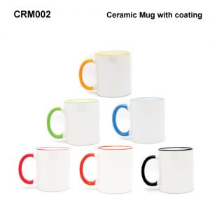 Ceramic Mug with Coating (CRM002)
