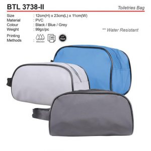 Water Resistant Toiletries Bag (BTL3738-II)