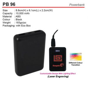 10,000mah PowerBank(PB96)