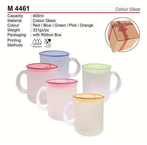 Budget Glass Mug (M4461)