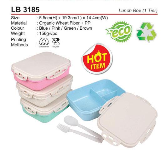 Organic Wheat Lunch Box (LB3185)